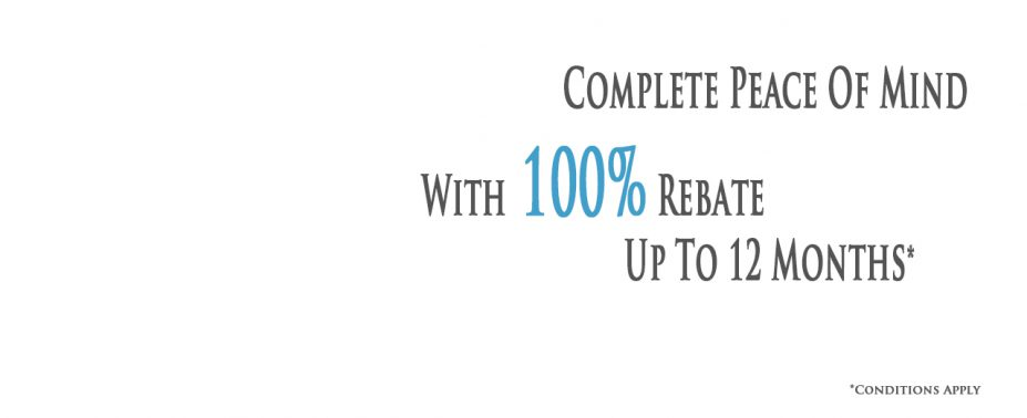 Despite the best of intentions from all involved, sometimes it just doesn't work out.  That is why, for your peace of mind we offer a 100% rebate for up to 12 months* Click the button below to arrange a call back or get in touch on 01892 517499