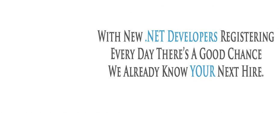 If you're reading this then there is a good chance that you're an employer looking to hire a .NET Developer OR you're a .NET Developer looking for your next assignment. Either way, contact us for a chat about how we can work together to reach a solution to your needs. 01892 517499