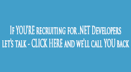 .NET Developers - Employers